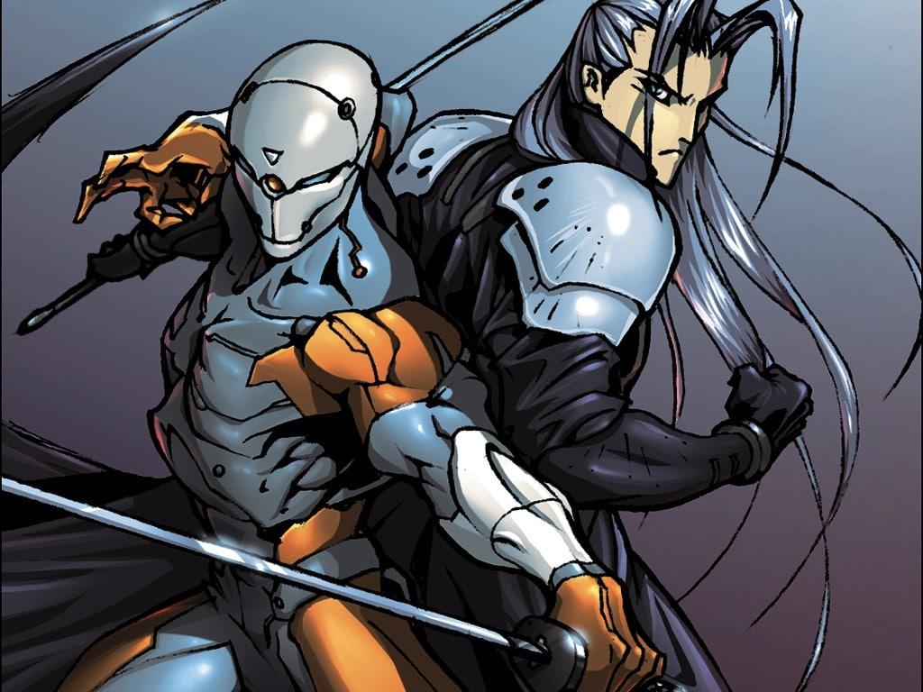 Final-Fantasy-VII-Metal-Gear-Solid-Sephiroth-Ninja