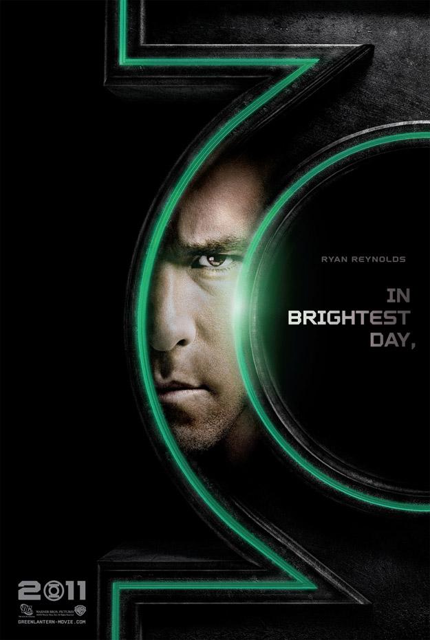 Ryan Reynolds Green Lantern Poster Promo Un Premier Trailer Explosif pour Green Lantern !