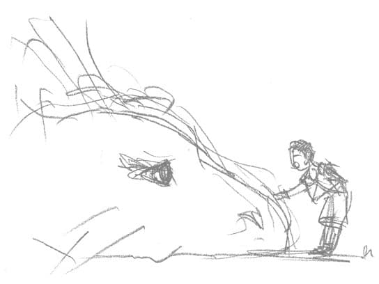 Croquis-The-Last-Guardian-Fumito-Ueda