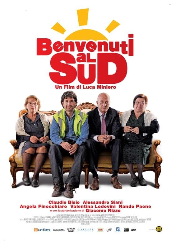 benvenuti al sud, bienvenue chez les chtis, remake italien, carton