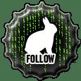 Follow-White-Rabbit-Matrix-Fan-Logo