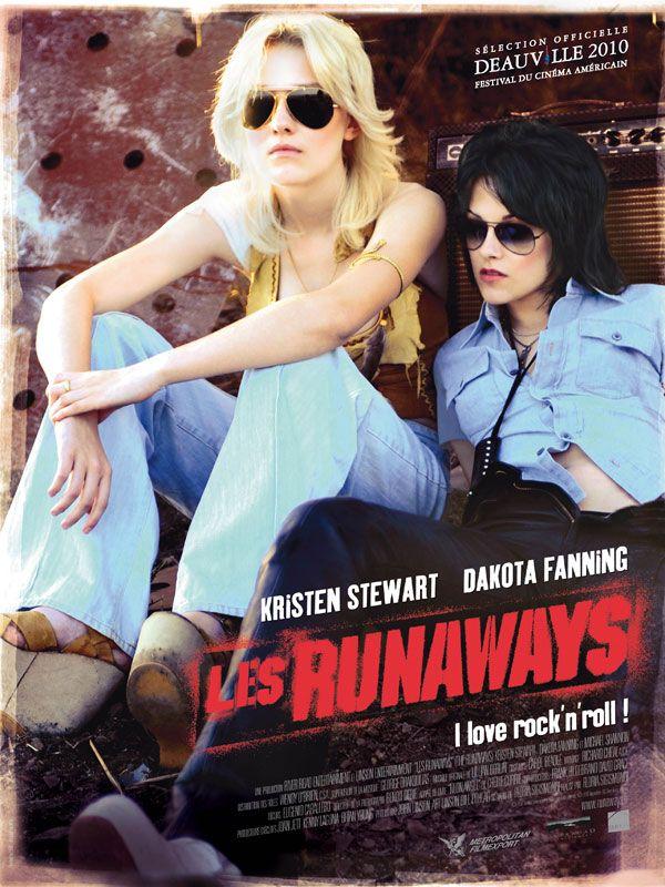 Les Runaways Affiche FR La Bande Annonce Française de The Runaways enfin en ligne !