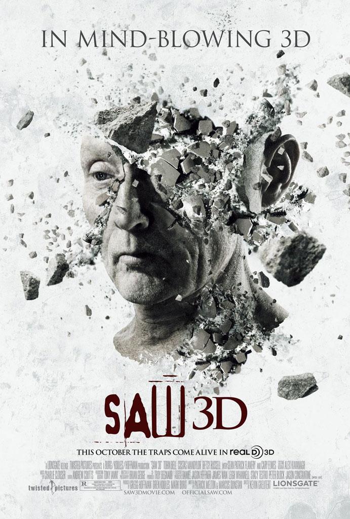 Saw 7 3D Jigsaw Poster