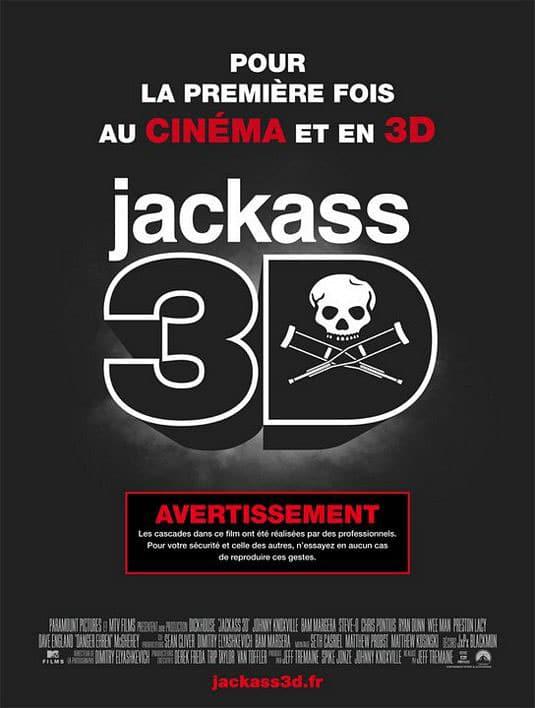 Jackass 3D Affiche Fr