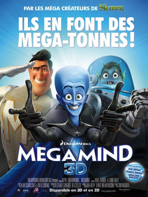 Megamind Affiche Fr