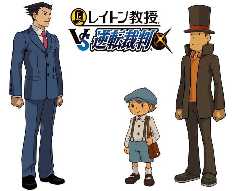 Professeur-Layton-vs-Ace-Attorney-Artworks-Logo-Japonais