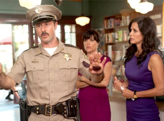 Scream-4-Set-photo-Neve-Campbell-Courteney-Cox-David-Arquette
