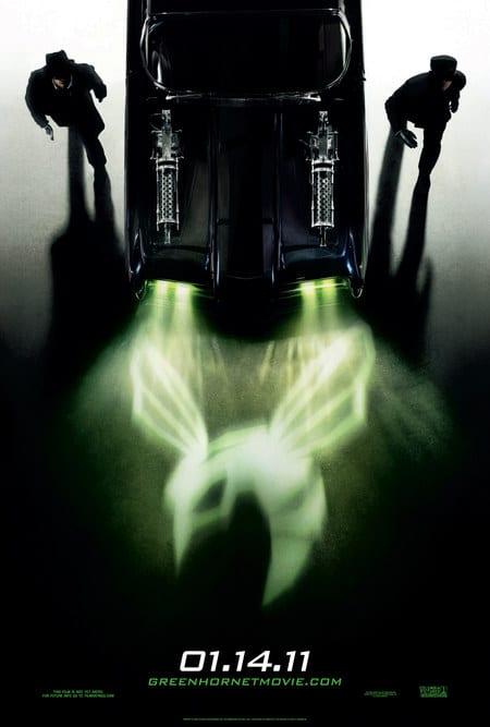 The Green Hornet Poster US 02
