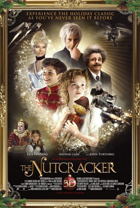 The Nutcracker in 3D Poster US