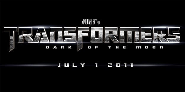 Transformers The Dark of the Moon Logo Premier Trailer et une Affiche Teaser pour Transformers: Dark Of The Moon