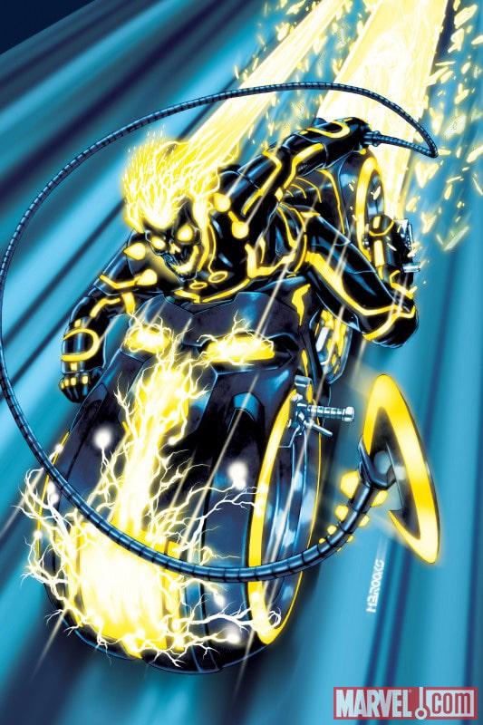 Tron-Legacy-Marvel-Promo-Ghost-Rider