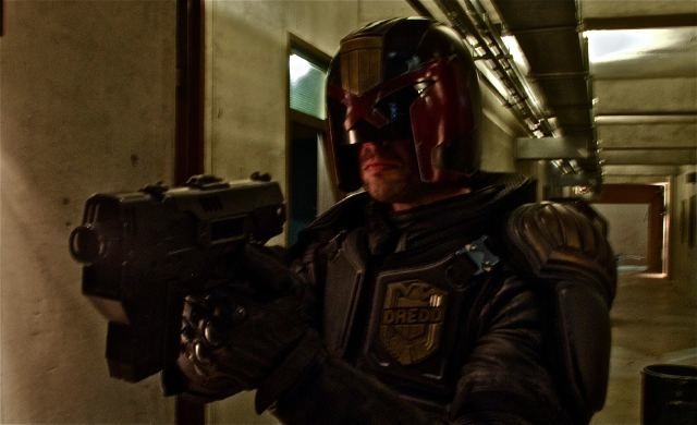 Dredd - Photo Featuring Karl Urban as Judge Dredd