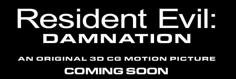 Resident Evil Damnation Site Logo Teaser Un Premier Teaser pour Resident Evil: Damnation !