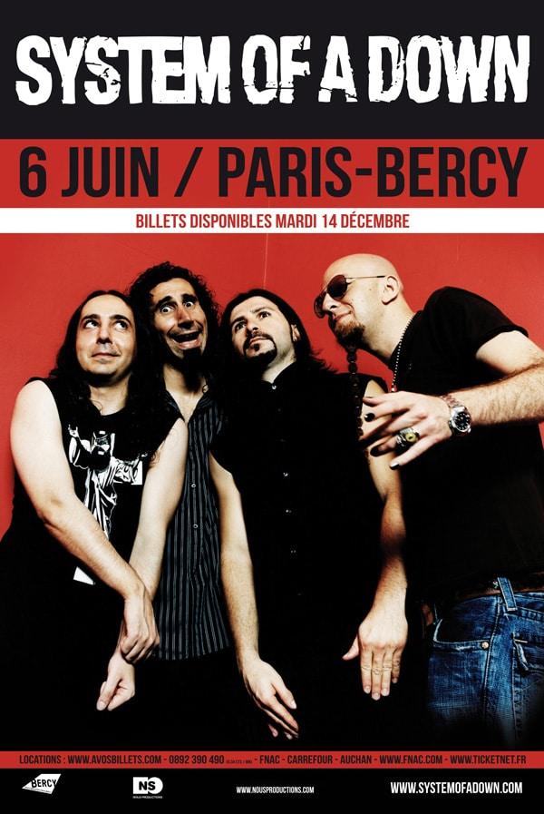System-Of-A-Down-Affiche-Tour-2011-06-Juin-Paris-Bercy