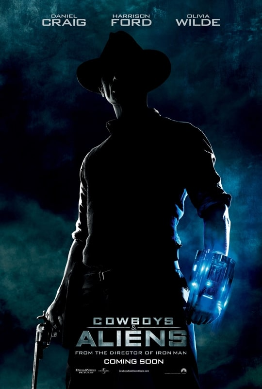 Cowboys And Aliens - International Poster 01