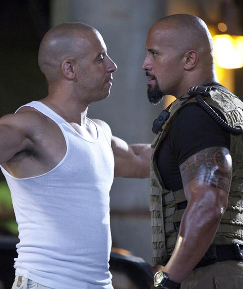 Fast-Five-Vin-Diesel-Facing-Off-With-Dwayne-Johnson