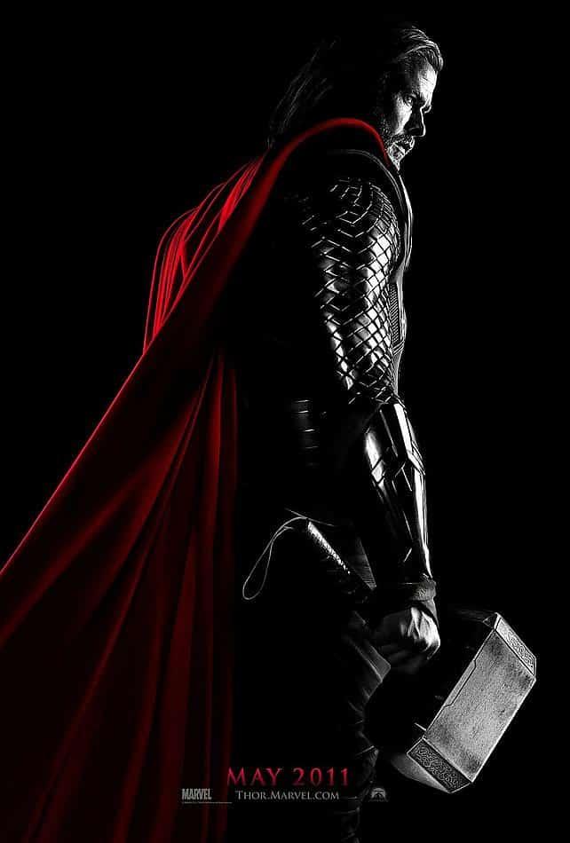 Thor Poster Teaser 01 La Première Bande Annonce Officielle de Thor