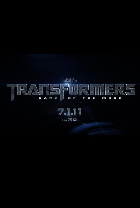 Transformers Dark Of The Moon - Official Poster Teaser