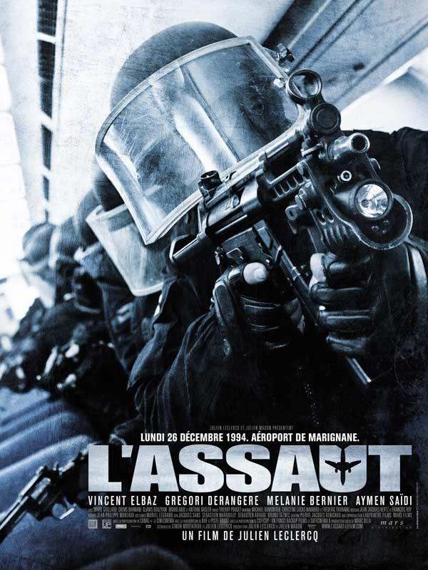 LAssaut Affiche Fr 01 Bande Annonce du Nouveau Film de Julien Leclerq LAssaut
