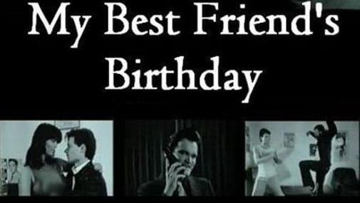 My Best Friends Birthday Banner Fan Le Premier Film de Quentin Tarantino My Best Friends Birthday en ligne !