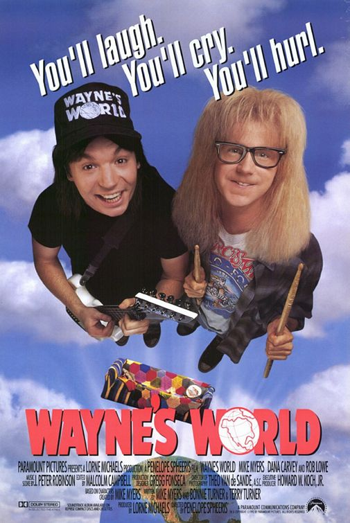 Wayne's World - Poster US 01