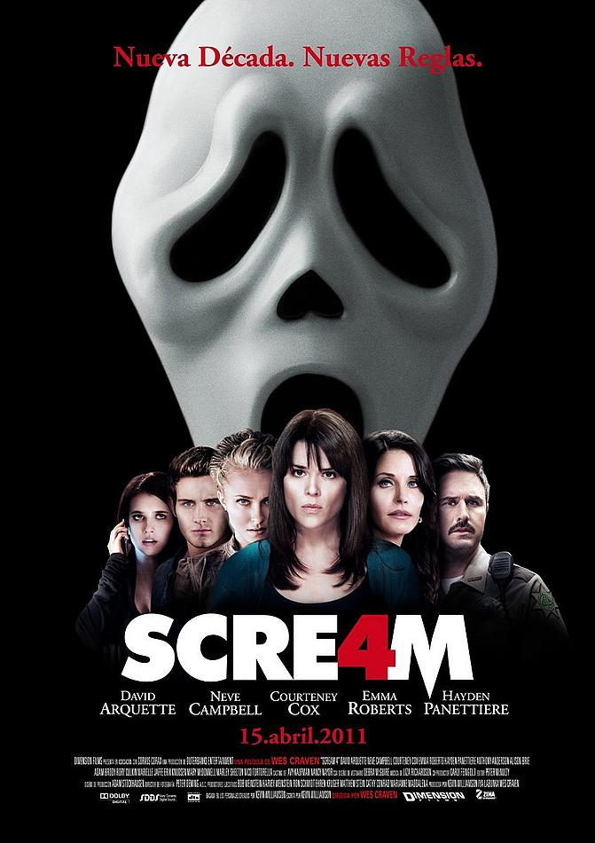 Scream 4 - International Poster 01