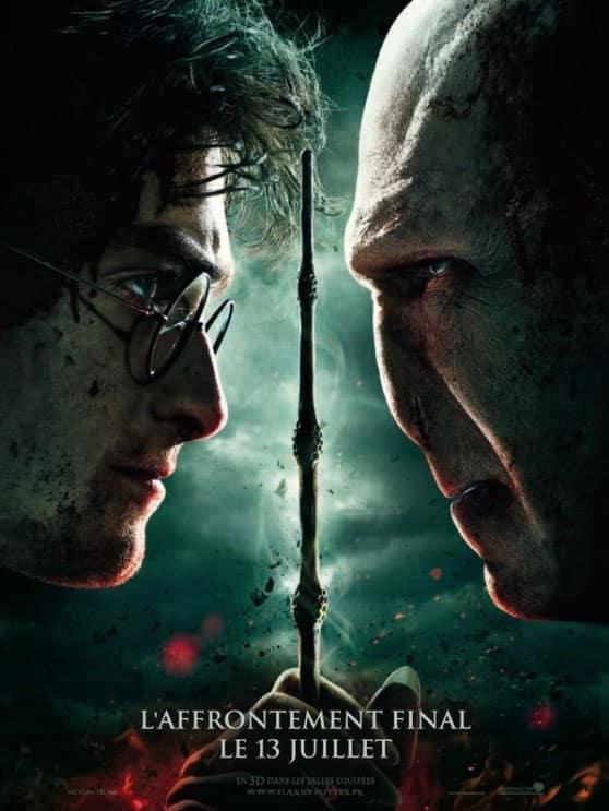 Harry Potter et les Reliques de la Mort Part 2 - Affiche FR 01