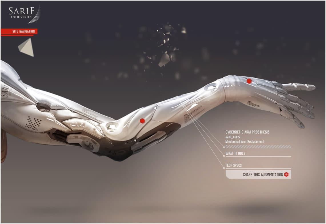 Sarif-Industries-Cybernetic-Arm-Prosthesis-Mechanical-Arm-Replacement