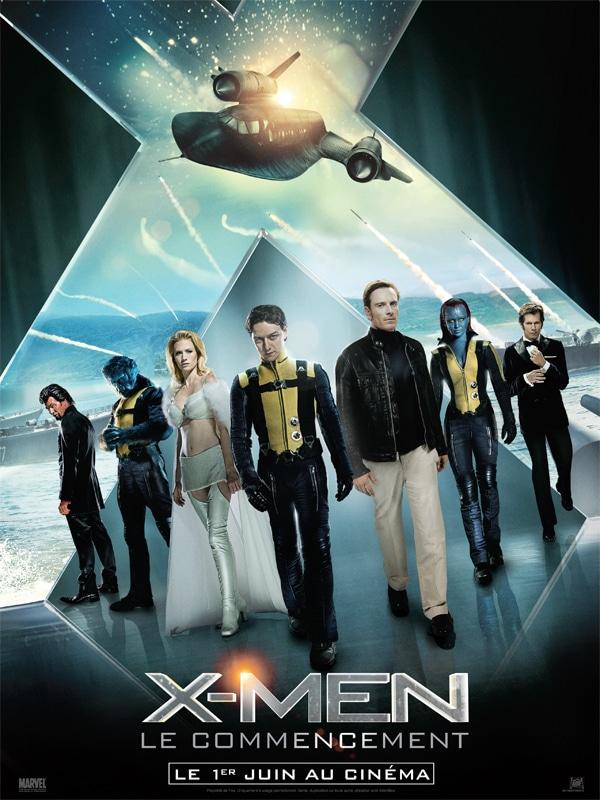 X-Men Le Commencement - Affiche FR 01