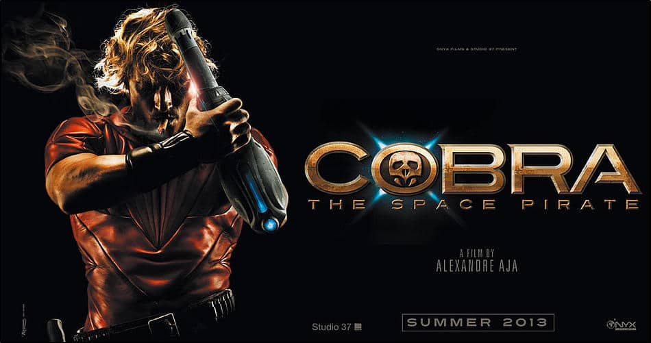 Cobra The Space Pirate - Alexandre Aja - Concept Art Banner