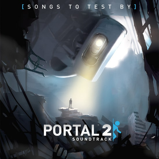 Portal-2-Songs-to-test-by-Album-Cover