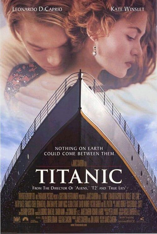 Titanic (1997) - Poster US 01