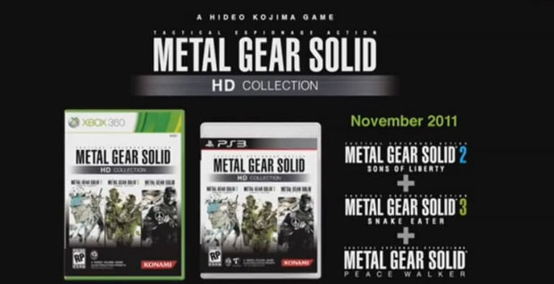 Konami-Pré-E3-2011-Hideo-Kojima-Metal-Gear-Solid-HD-Collection-Announcement