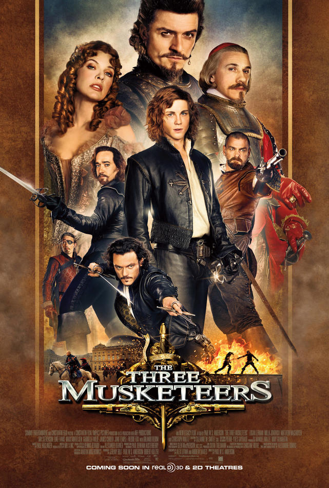 The Three Musketeers (2011) - Poster US 04