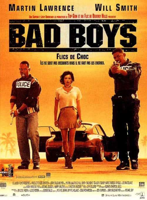 Bad Boys (1994) - Affiche FR 01
