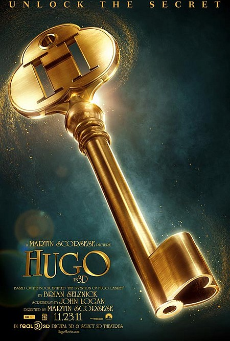 The Invention of Hugo Cabret - Poster US 01
