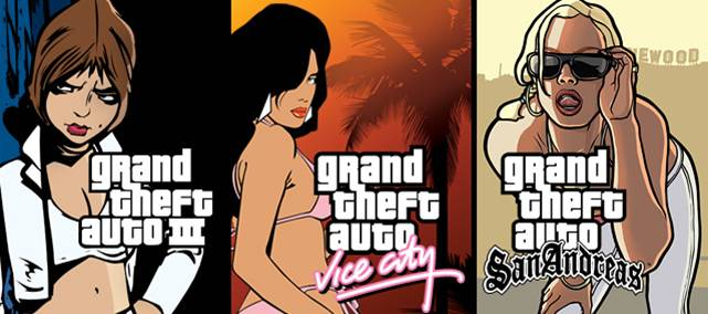 Grand theft auto iii, vice city, san andreas - app store mac banner