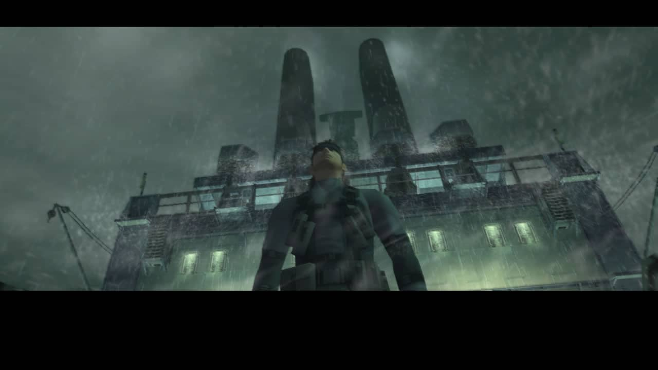 Metal Gear Solid HD Collection - Metal Gear Solid 2 - Screenshot 01