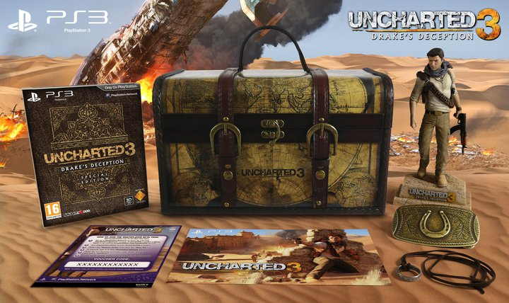 Uncharted 3 Drakes Deception Edition Explorer Découvrez l'Edition Explorer d'Uncharted 3