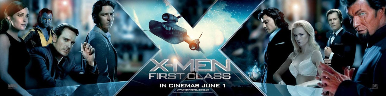 X Men First Class Banner 01 Critique Cinéma : X Men Le Commencement