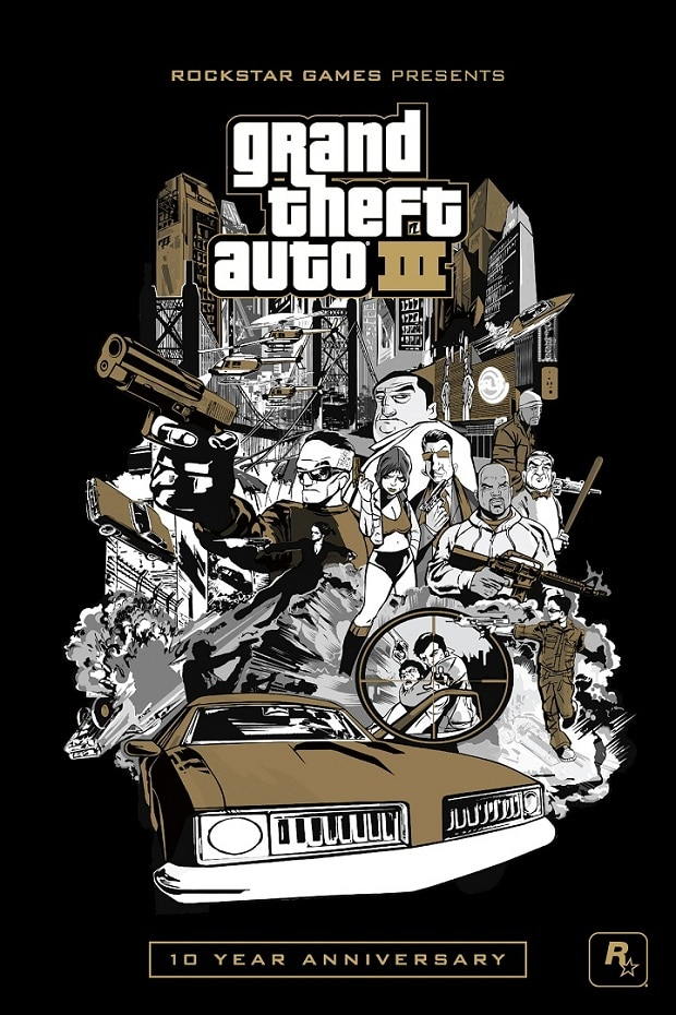 Grand Theft Auto III 10th Anniversary Edition - Poster 01