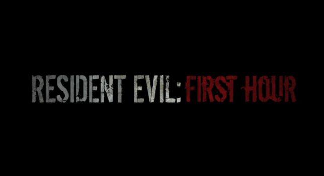 Resident-Evil-First-Hour-Titre-Logo