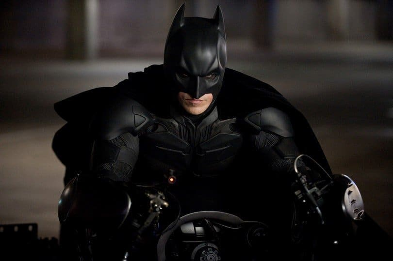Christian Bale est The Batman dans The Dark Knight Rises de Christopher Nolan