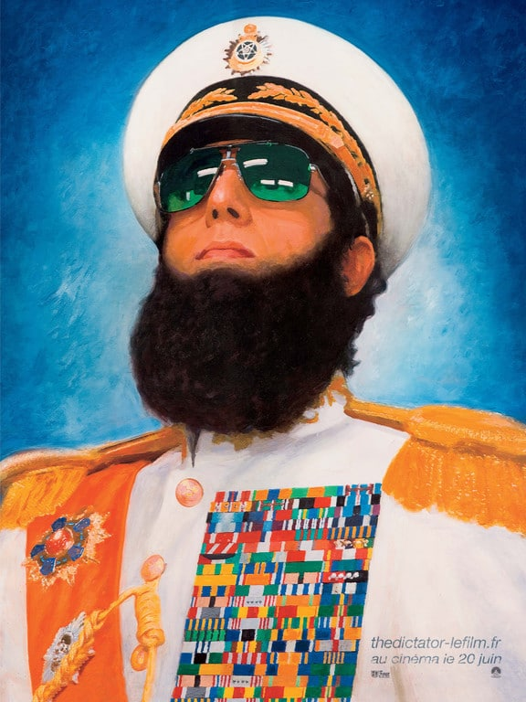 The Dictator - Affiche Teaser FR 01