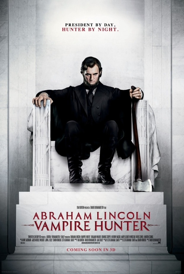 Abraham Lincoln Vampire Hunter - Poster US 01