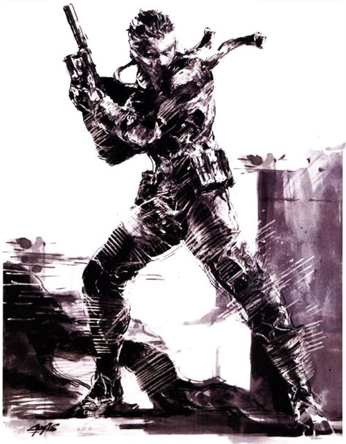 Interview-David-Hayter-Solid-Snake-MGS1-by-Yoji-Shinkawa