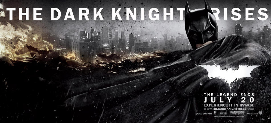 The Dark Knight Rises Banner US 05 The Dark Knight Rises : La chute du chevalier noir ?