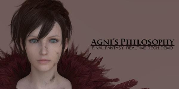La nueva generación estará en el E3 representada por Final Fantasy Final-Fantasy-Agnis-Philosophy-RealTime-Tech-Demo