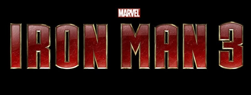Iron Man 3 - Logo Titre 01