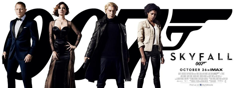 Skyfall Banner US 02 Skyfall : La chanson du prochain James Bond disponible